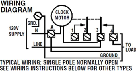 intermatic timer wiring diagram wiring diagram pictures
