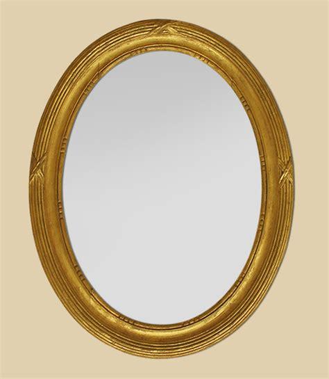 miroirs anciens bois dore miroir ancien ovale bois dor 233