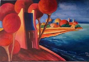 La maison au bord de mer couleurs et pinceaux for Marvelous piece peinture 2 couleurs 7 la maison au bord de mer couleurs et pinceaux