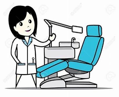 Dentist Dental Clip Clipart Clinic Chair Symbol