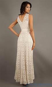 sleeveless floor length eyelet dress size 6 wedding dress With eyelet wedding dress
