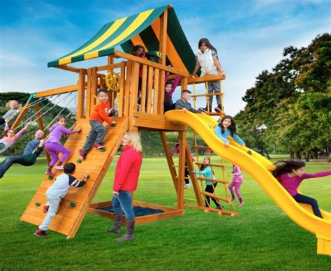 wooden outdoor swing sets  sale outdoor playsets ny