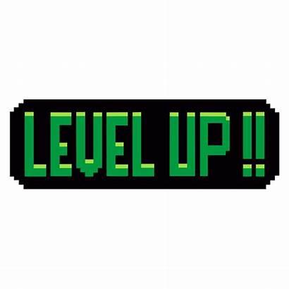Sticker Level Pixel Bit Games Pixels Character