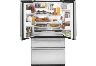 monogram french door  drawer  standing stainless steel refrigerator zfgbhzss