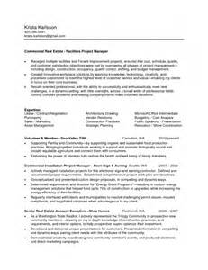 Ssis Resumes by Real Estate Resume For Beginners Resume Template Exle