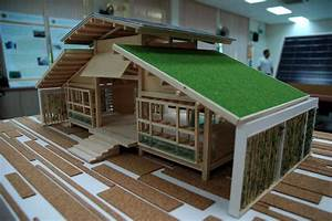 Nature-Friendly Bamboo House Design - AllstateLogHomes com