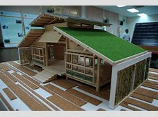 NatureFriendly Bamboo House Design AllstateLogHomescom