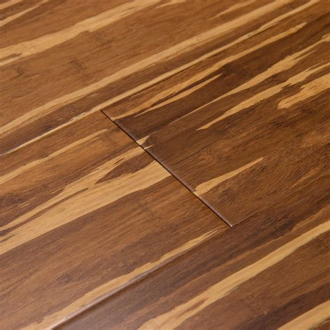 hardwood flooring bamboo shop cali bamboo fossilized 5 in marbled solid bamboo hardwood flooring 27 01 sq ft at lowes com