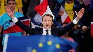 Polls suggest Macron set to defeat Le Pen in 2nd round of ...