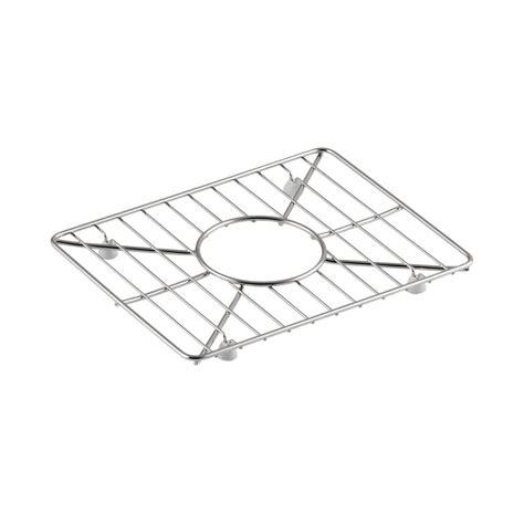 Kohler Sink Protector Rack by Kohler Vault 11 5 In X 8 9375 In Sink Basin Rack In
