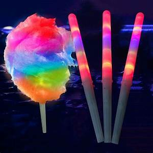 Led Stick Flash Glow Cotton Candy Stick for Vocal Concerts