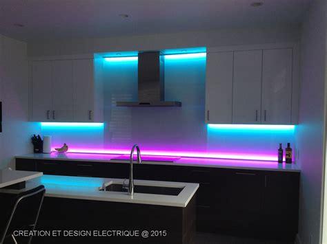 re led cuisine projets creation et design electrique inc