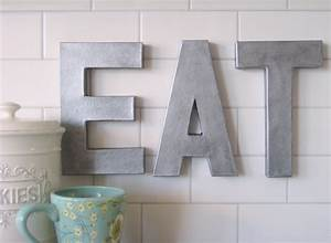 decorative letters driven by decor With kitchen letters decoration