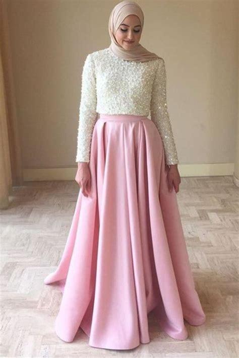 chic  simple hijab evening dresses  inspire