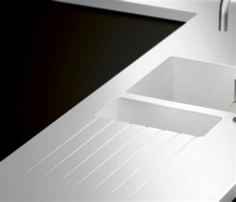 WORKTOPS MADE OF CORIAN®   Kitchen sinks from Hasenkopf