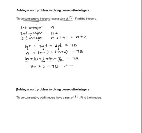 multiplying integers word problems with solutions how to