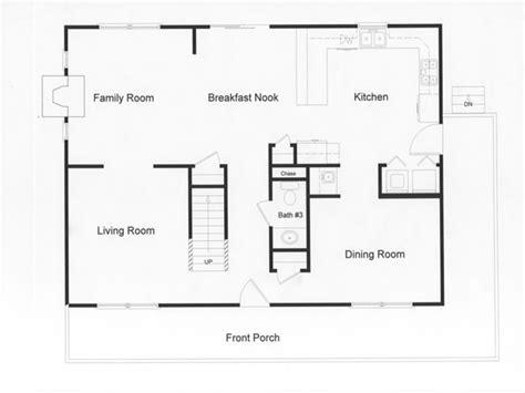 country kitchen floor plans log modular home floor plans modular open floor plan large 6062