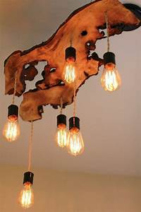 Lampen Aus Treibholz Selber Machen : diy lampe 76 super coole bastelideen dazu ~ Indierocktalk.com Haus und Dekorationen