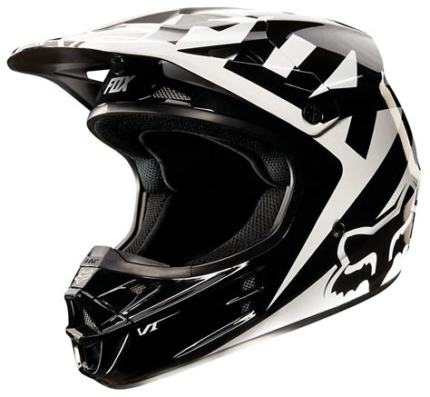 fox v1 motocross helmet 169 95 fox racing v1 race helmet 205089
