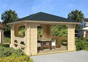 Grill Pavillon Holz : gartenpavillon holz sechseckig selber bauen ~ Whattoseeinmadrid.com Haus und Dekorationen