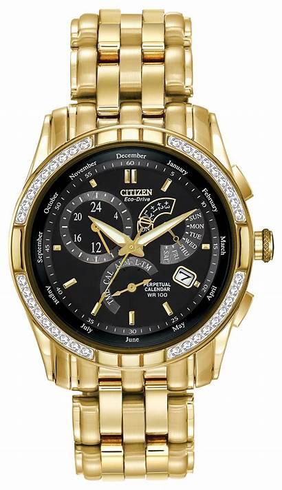 Citizen Eco Drive Gold Corso Diamond 54e