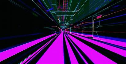 Neon Outrun Traffic Redd Soaring Through