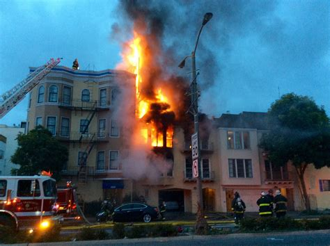 3 Injured In Apartment Building Fire In S.f.'s Marina District