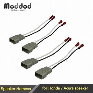 For Honda Speaker Wire Harness Connects Aftermarket To Oem