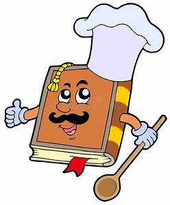 Cartoon Recipe Book Stock Vector  Image Of Guide