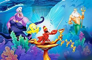 LITTLE MERMAID disney fantasy animation cartoon adventure ...