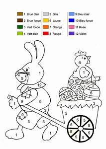 Coloriage De Paque : coloriage magique ~ Melissatoandfro.com Idées de Décoration