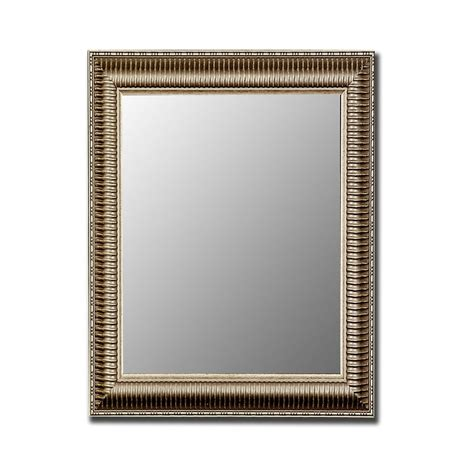 shop hitchcock butterfield antique silver beveled wall mirror at lowes com