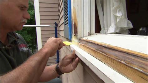 Wood Window Sill Replacement by How To Fix Rotted Wood With Epoxy This House