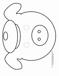 Free coloring pages of pig masks