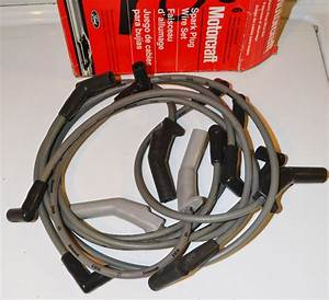 Spark Plug Wires Lincoln Continental 1988 1989 1990 Spark