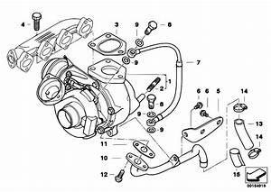 Original Parts For E39 520d M47 Sedan    Engine   Turbo
