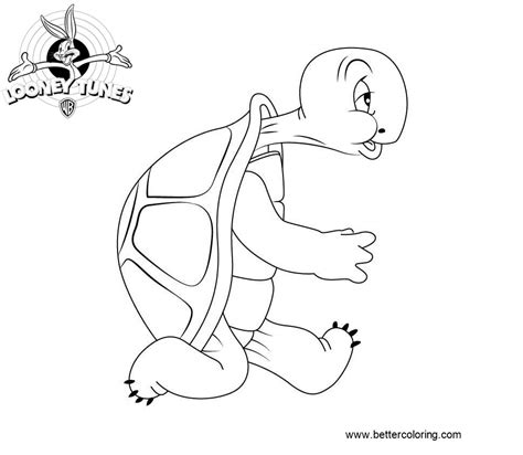 cecil turtle  looney tunes coloring pages