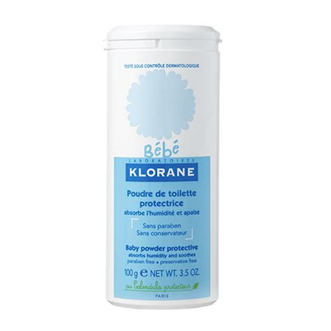 klorane b 233 b 233 poudre de toilette protectrice 100g
