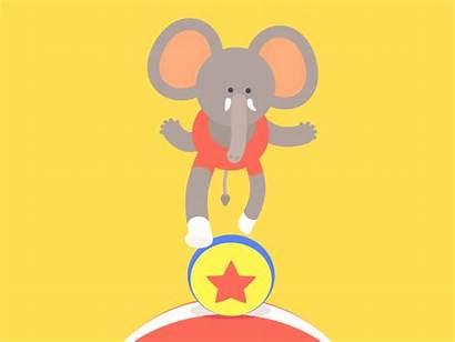 Elephant Dribbble Curran James Inspiration Weekly Medium
