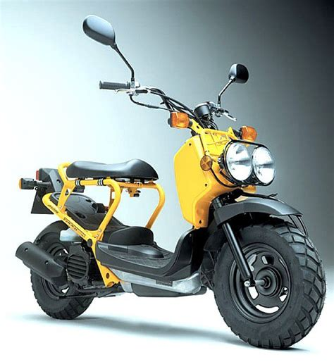 honda zoomer  honda scooters electric motorcycle