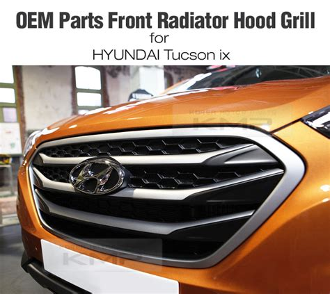 Hyundai Oem Parts by Oem Parts Front Radiator Grille Trim For Hyundai 2010