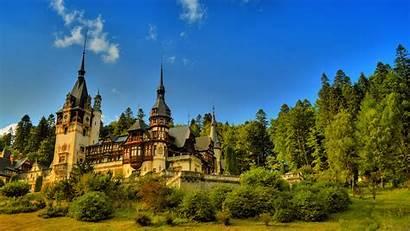 Castle Forest Wallpapers Europe European 1080p Desktop