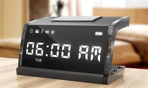 11 Cool Alarm Clocks That'll Make You Wake Up And Stay Up