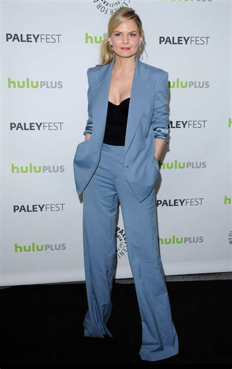 jennifer morrison pantsuit suits lookbook stylebistro