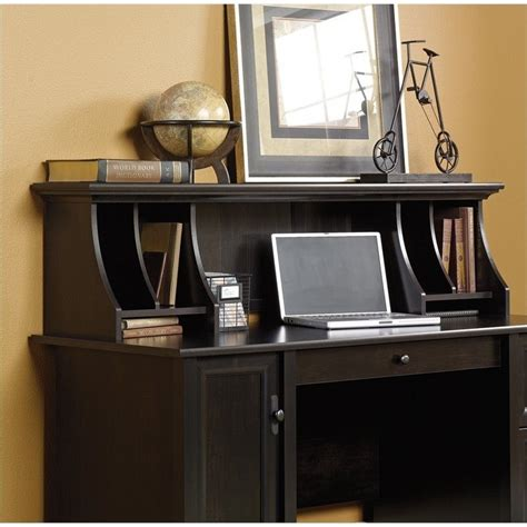 sauder edge water desk with hutch sauder edge water hutch set estate black computer desk
