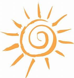 Simple Sun Motif Clip Art at Clker.com - vector clip art ...