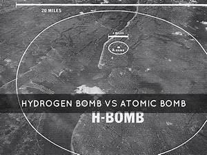 hydrogen bomb vs atomic bomb blast radius - Google Search ...