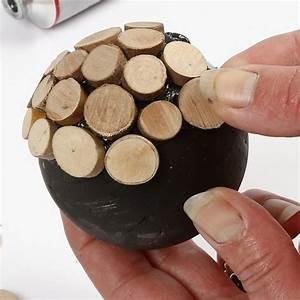 Deko Mit Holzscheiben : die besten 25 styroporkugeln ideen auf pinterest basteln weihnachten styroporkugeln ~ Buech-reservation.com Haus und Dekorationen
