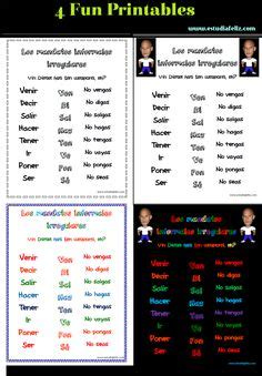 Start studying vin diesel verbs. 1000+ images about Mandatos on Pinterest   In spanish ...