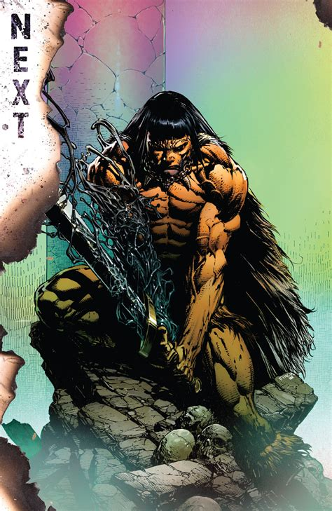 avengers savage wolverine conan punisher marvel spoilers villain barbarian separate goals universe returns zone huge comics related stoked really